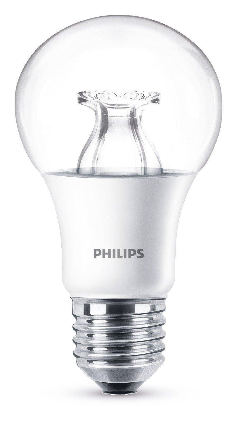 24x Philips LED Lampe WarmGlow 8 W ersetzt 60 W, E27, warmweiß 2700K, 806LM,DIMMBAR