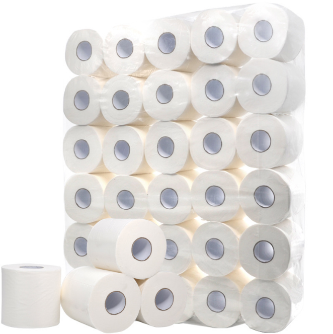 96 Rollen Defacto Toilettenpapier Klopapier WC-Papier 3-Lagig 150 BLATT Weiß  FSC®