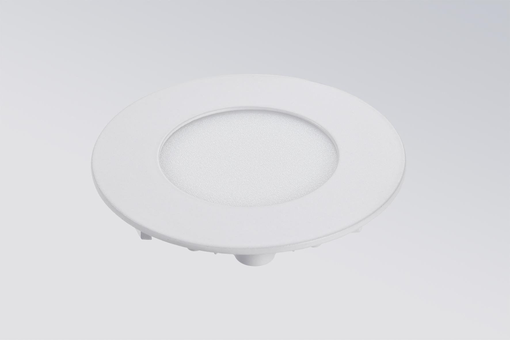 3W Profi LED Panel UNTERPUTZ Deckenleuchte Ultraslim Einbaupanel 4200K 160LM