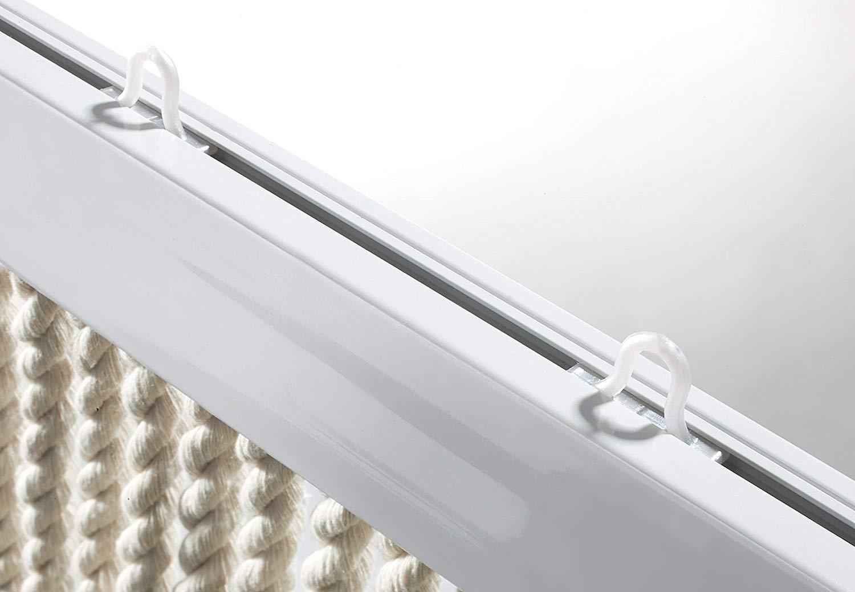 defacto Türvorhang Fadenvorhang 100x200cm PVC Vorhange Fliegenschutz 100% Made in Italia PVC Streife