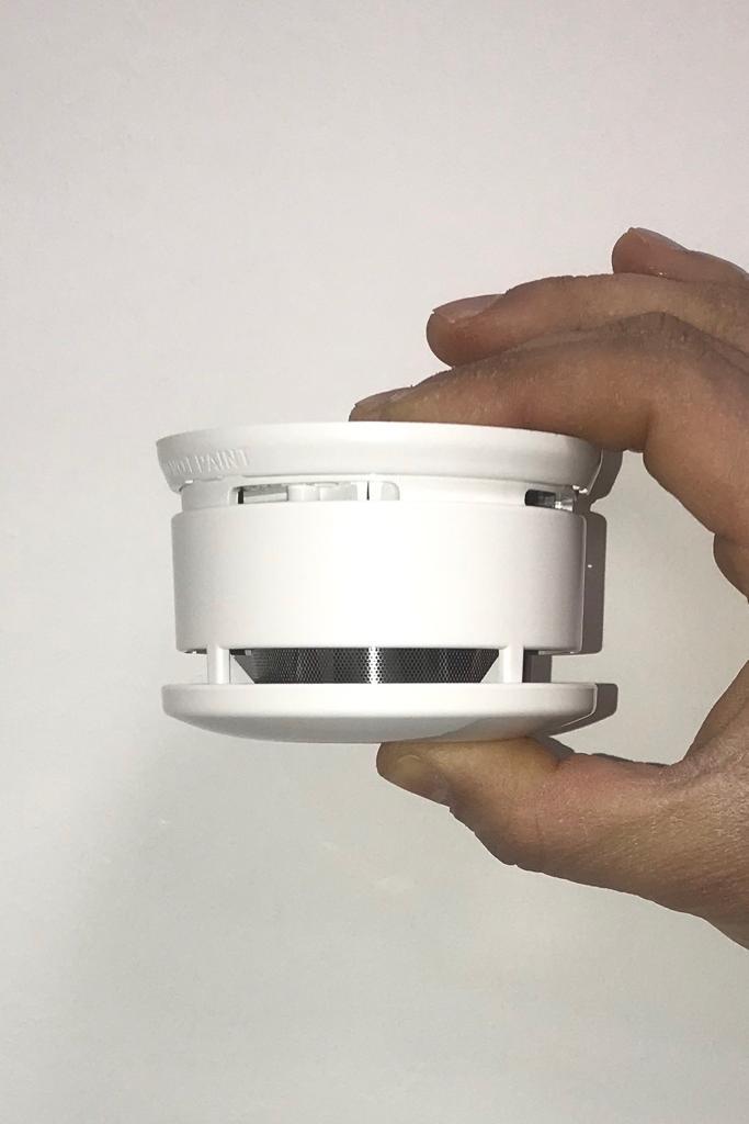 5 Stück Brennenstuhl Rauchmelder + Magnet mit 10 Jahre Batterie & Magnet EN14604 Feuermelder ETNA