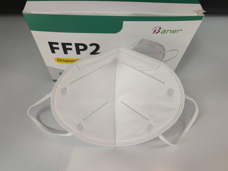 Atemschutzmaske FFP2 Schutzmaske Maske CE EN149:2001+A1:200 Zertifiziert 20 Stück