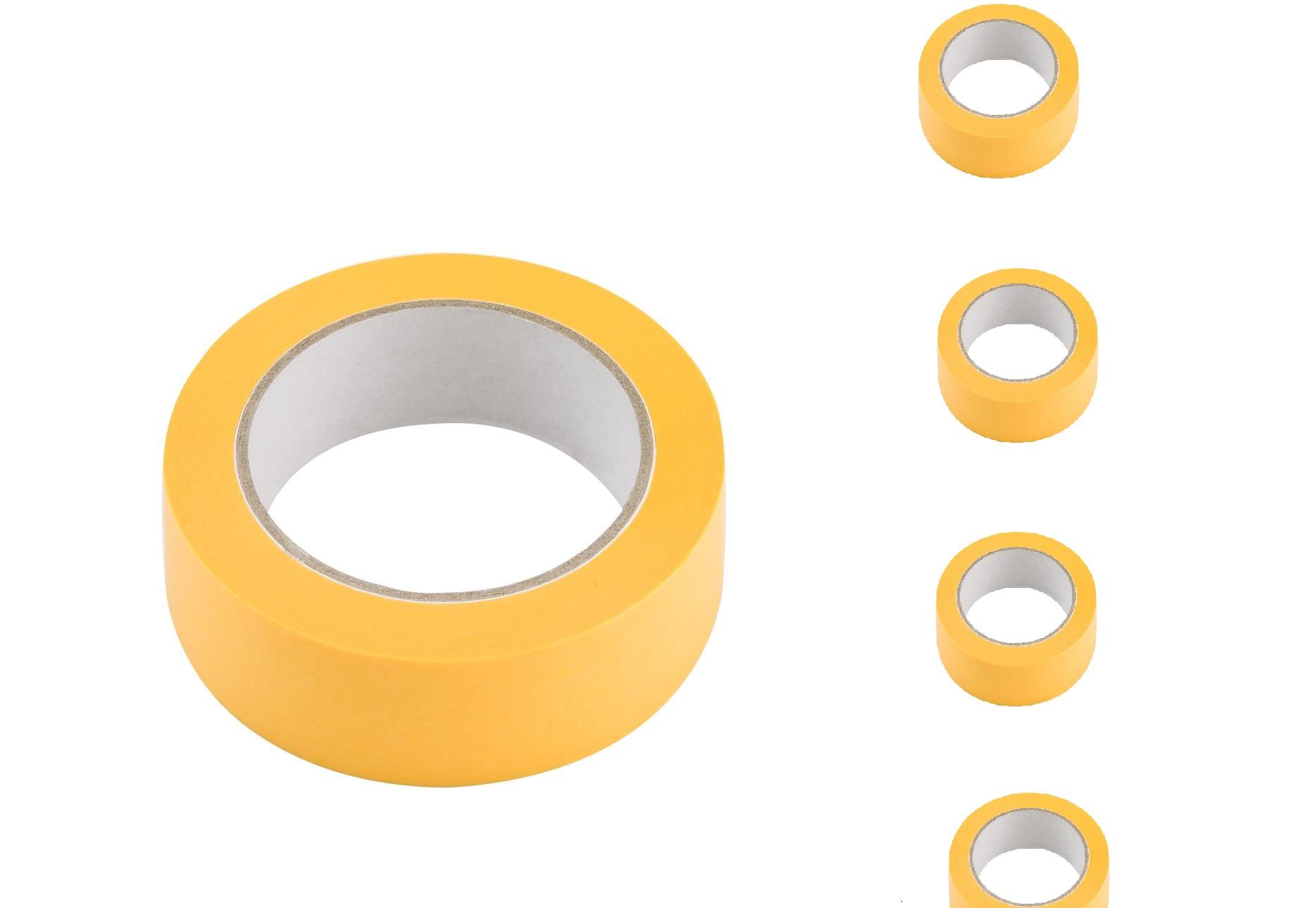 12  Rollen Goldband PLUS 30mmx50m Malerklebeband Malerkrepp Klebeband Tape